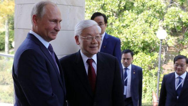 Putin - Nguyễn Phú Trọng