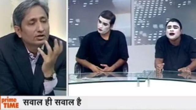 रवीश कुमार का शो