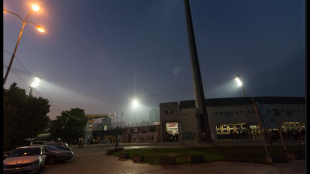 Posle dugo godina stadion Čair u Nišu je renoviran, pa Radnički opet igra utakmice i pod sjajem reflektora