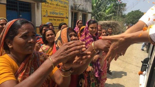 இந்தியாவில் பெண்களை ஆட்சிக் கட்டிலில் அமர்த்துவதற்கான முதல்படி