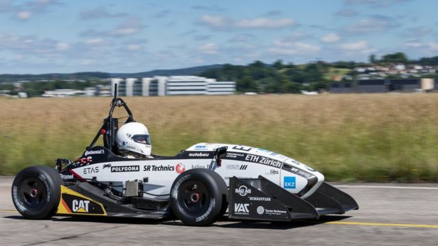 Electric car sets world acceleration record