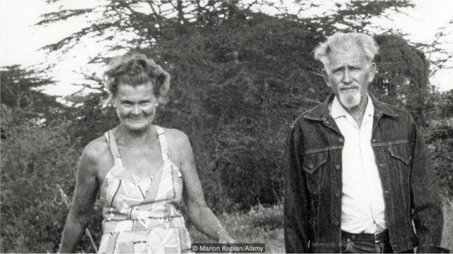 O casal Adamson