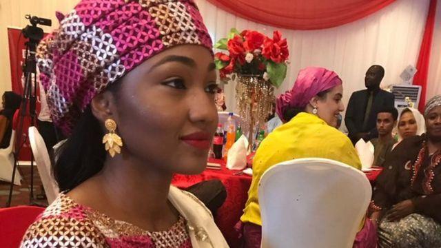 Zahra Buhari attend BBC Hausa literary contest event