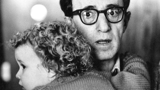 Woody Allen y Dylan Farrow