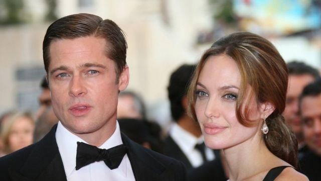 "Le couple Angelina Jolie-Brad Pitt, surnommé ""Bradgelina"""