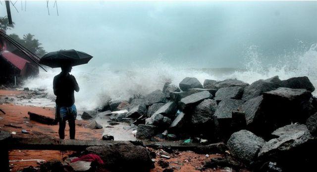 Temporada de los monzones en India