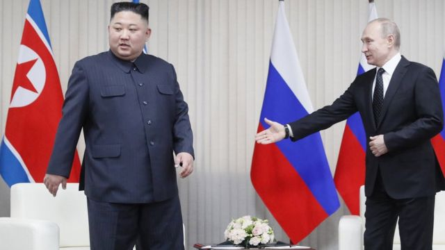Kim meet with Putin
