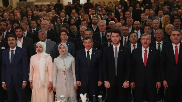 Ahmet Davutoğlu'nun Gelecek Partisi 13 Aralık'ta kuruldu