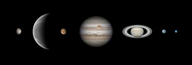 '행성들의 행진(Parade of the Planets)'