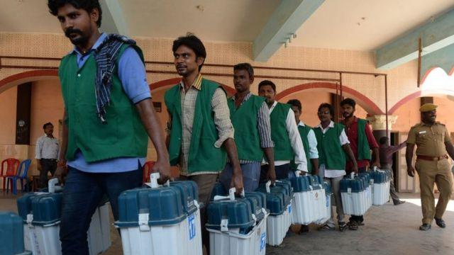 भारत निर्वाचन - दोस्रो चरण