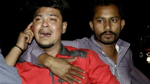 Abari kugerageza gutabaza nyuma y'igiterp i Lahore