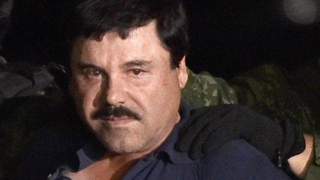 Joaquín Guzmán Loera es presentado tras su segunda detención