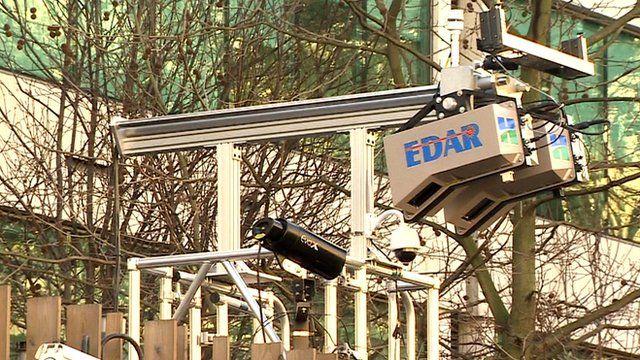 EDAR laser device