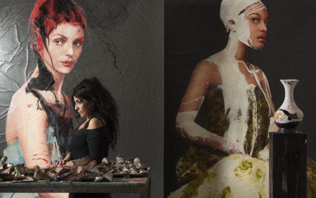 Las pinturas de Lita Cabellut cotizan por encima de los US$100.000.