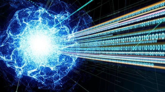 Ilustração sobre ciência quântica