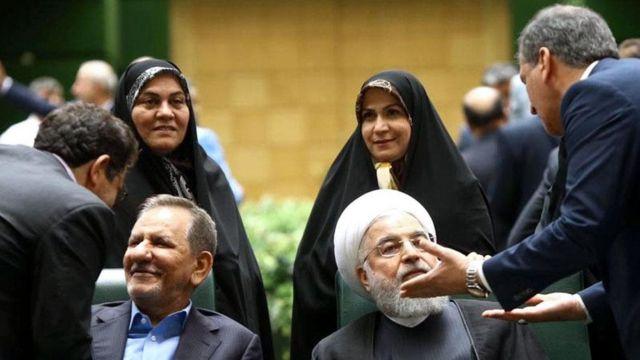 رئیس جمهور ایران در مجلس