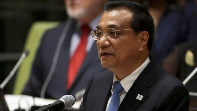 Çinin Baş naziri Li Keqiang