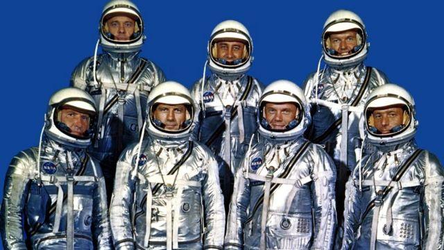 """Члены группы """"Меркурий-7"""" были воплощением спокойствия, необходимого для выполнения опасных миссий"""