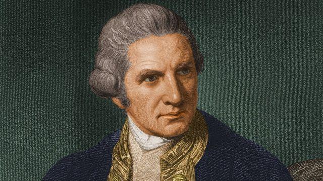Джеймс Кук (портрет неизвестного автора, около 1765 года)