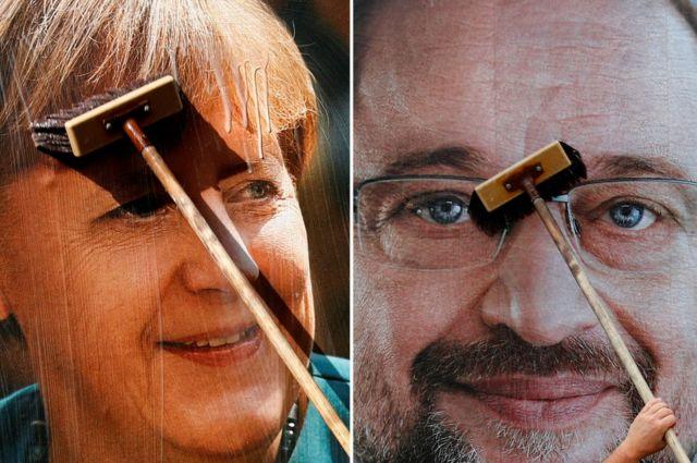 Кто будет следующим канцлером - Ангела Меркель или социал-демократ Мартин Шульц?
