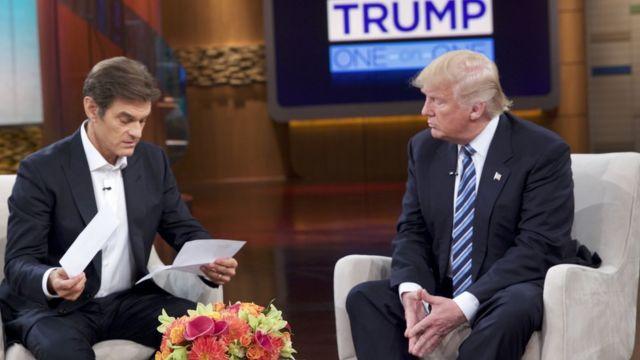 Donald Trump en The Dr Oz Show