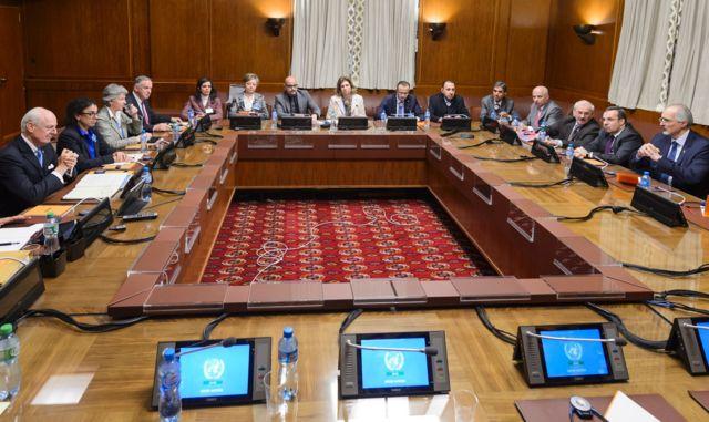 Syria peace talks are beginning in Geneva, Switzerland