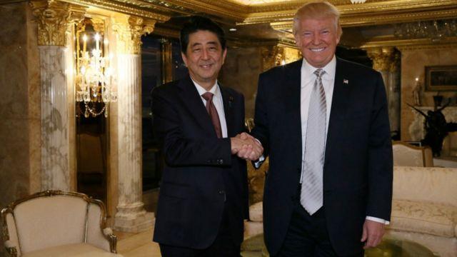 La Corée du Nord effectue ce tir alors que le Premier ministre japonais est en visite aux Etats-Unis.