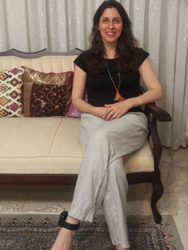 نازنین زاغری با شیوع ویروس کرونا در زندان های ایران با پابند الکتریکی به مرخصی فرستاده شده