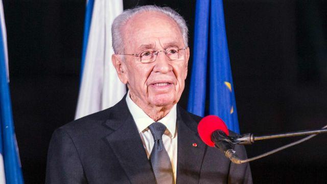 ペレス氏はイスラエルのあらゆる要職を務めてきた(写真は2015年11月撮影)