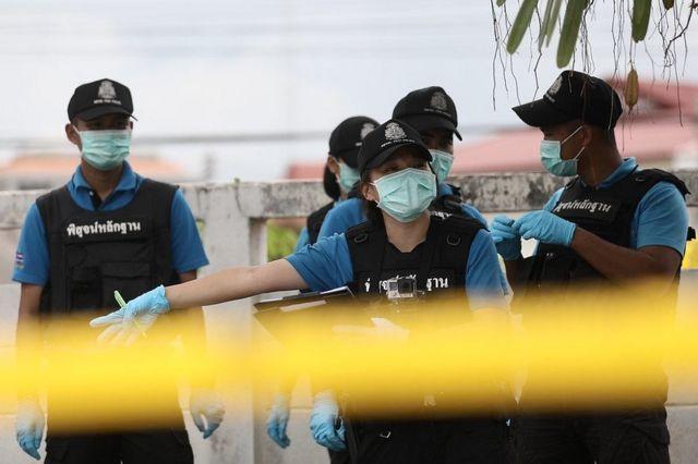 นวลปราง พิทักษ์กาญจนกุล ตำรวจหญิง พิสูจน์หลักฐาน สามจังหวัดชายแดนใต้ บีบีซี