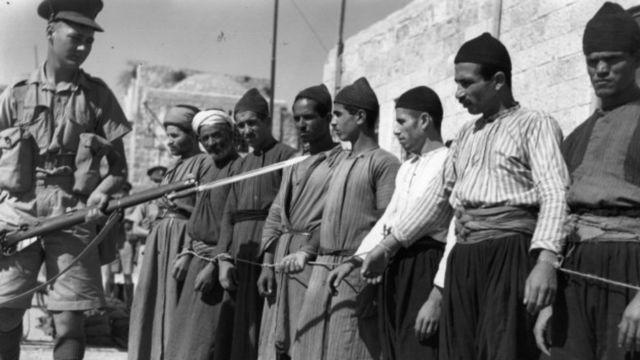 A la caída del Imperio otomano, Reino Unido se encargó de administrar el territorio de Palestina.