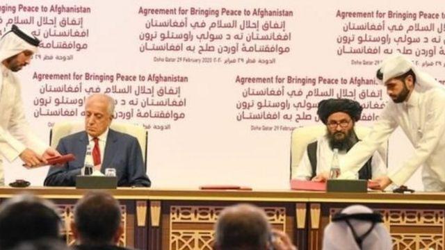 توافقنامه آمریکا و طالبان