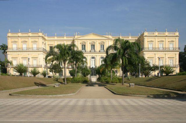 Vista de la fachada del Museo Nacional