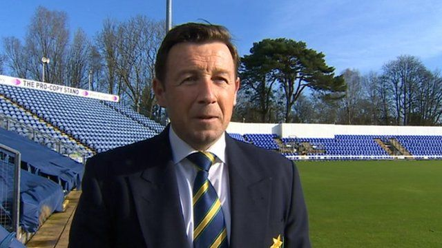 Glamorgan head coach Robert Croft