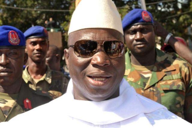 Bwana Jammeh yarongoye Gambia imyaka 22