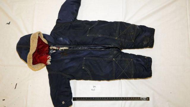 لباسی که تن جسد بوده است