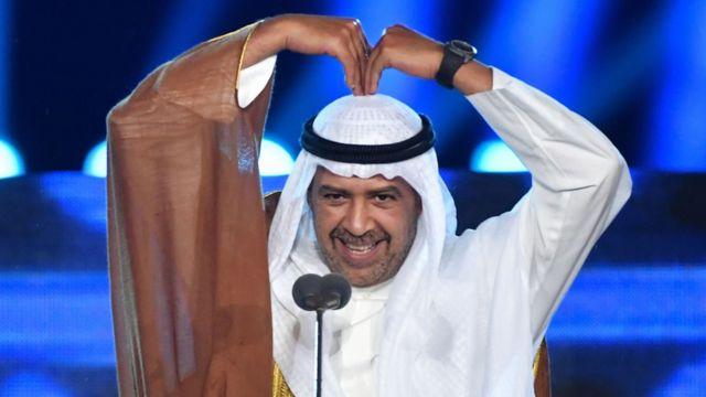 Presiden OCA Sheikh Ahmad Al-Fahad Al-Ahmed Al-Sabah