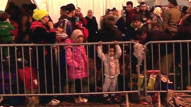 Migrants in Croatia