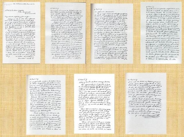 Letter from Villa to Zapata