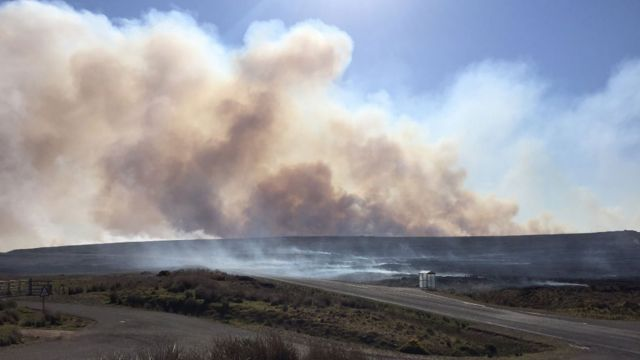 Crews enter fifth full day fighting wildfire in Sutherland