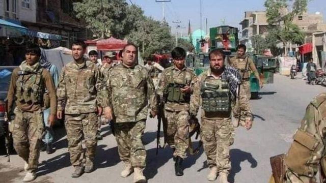 القوات الحكومية تحاول التصدي لتقدم طالبان