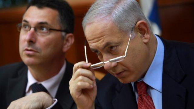 Биньямин Нетаньяху и Гидеон Саар, 2009 год