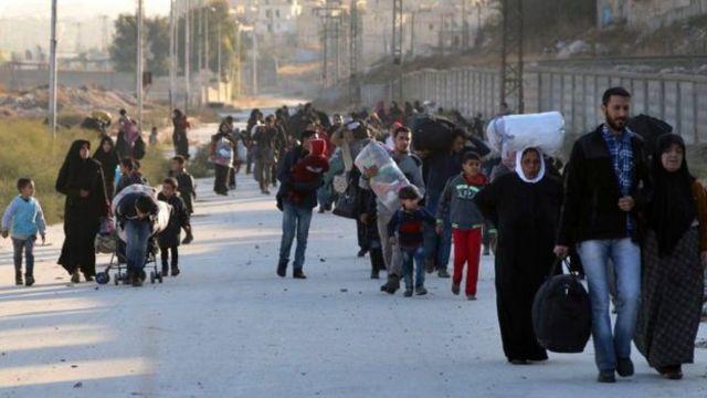 بعض مناطق حلب تقع تحت سيطرة المعارضة المسلحة منذ أعوام