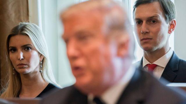Ivanka Trump y su marido, Jared Kushner.