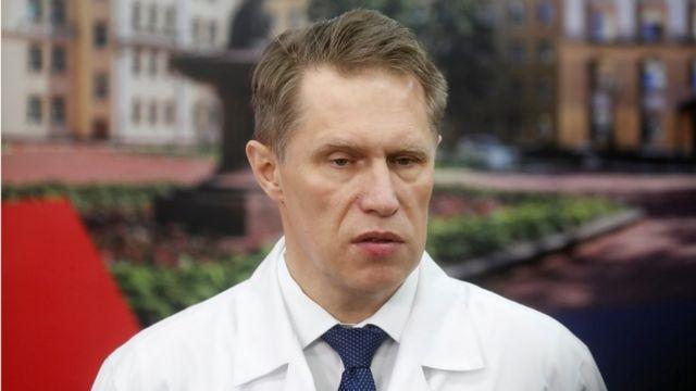 Resultado de imagen para ministro de salud de rusia