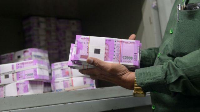 दो हज़ार रुपए के नए नोट.