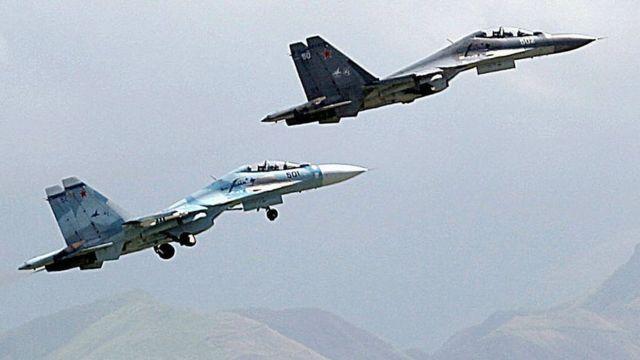 Venezuela compró a Rusia una moderna flota de cazas Sukhoi.