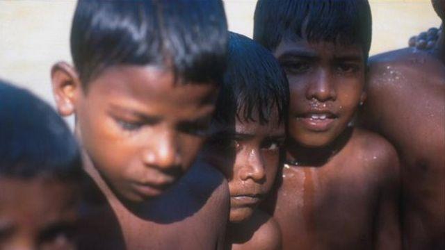 ग्रामीण बच्चे