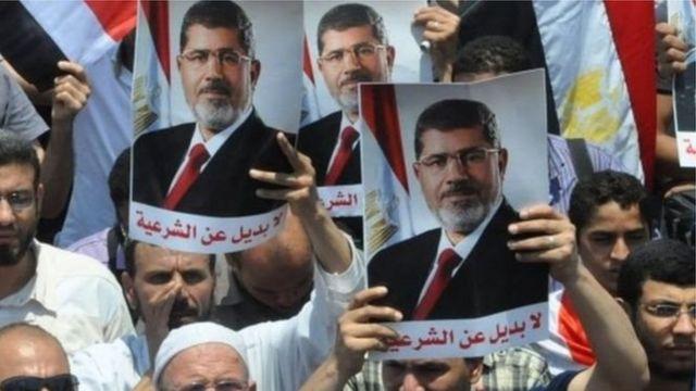 Il a été choisi comme candidat des Frères musulmans à l'élection présidentielle de 2012.