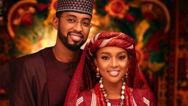 Gorgeous photos of Hanan Buhari and Muhammed Fahd